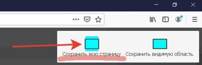 Как сделать скриншот всего сайта с прокруткой